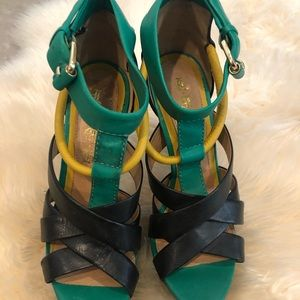L.A.M.B  Shoes size 8 leather made in Brazil